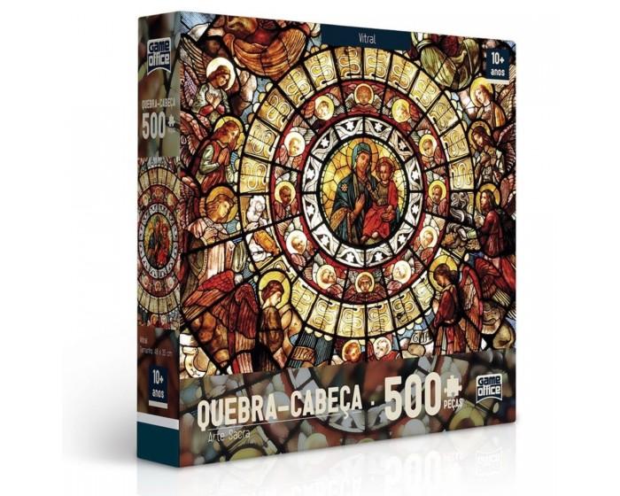 Quebra-cabeça 500 peças Arte Sacra Vitral