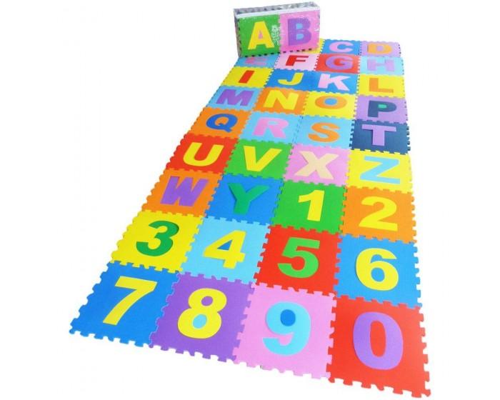 Tapete Alfanumérico 36 peças em E.V.A