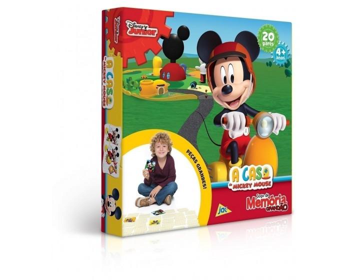 Jogo da Memória Grandão A Casa do Mickey Mouse