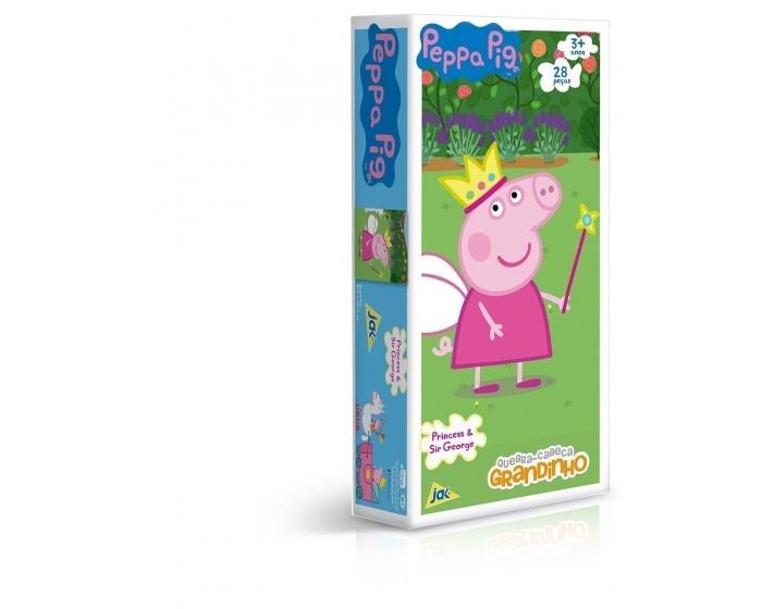 Quebra-cabeça 28 Peças Peppa Pig