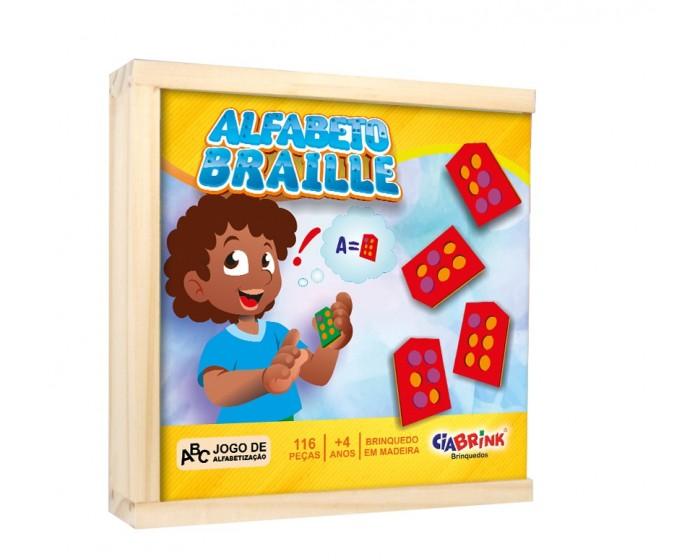 Alfabeto Braille Colado EVA