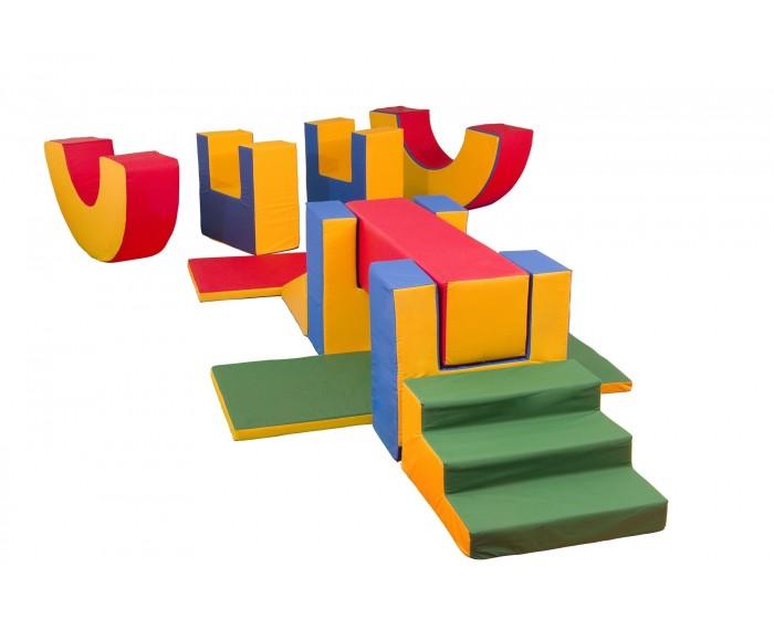 Playground Espumado Circuito Ginasta com 11 Peças