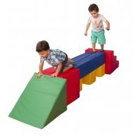 Playground Espumado Ponte de Equilíbrio