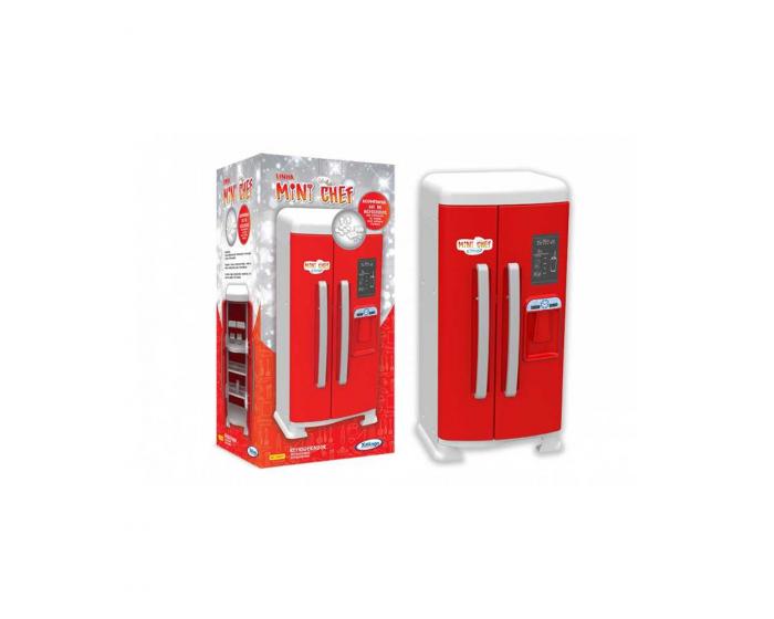 Refrigerador Vermelho Mini Chef