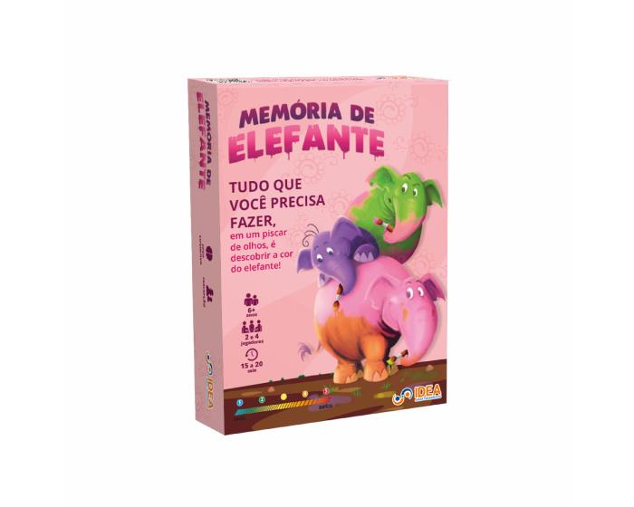 Jogo Cognitivo Memória de Elefante