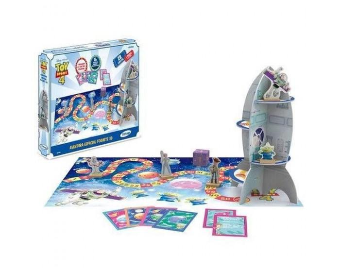 Jogo de Tabuleiro 3D Aventura Espacial Toy Story