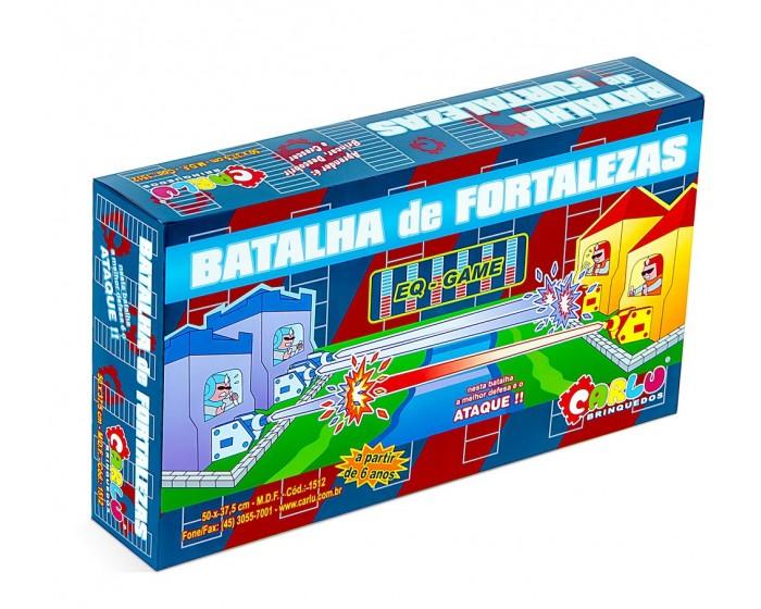 Jogo Batalha de Fortalezas com 234 Peças Caixa Cartonada