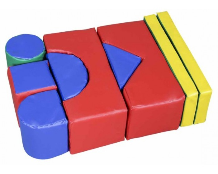 Playground Espumado Geométrico 9 Peças em Korino