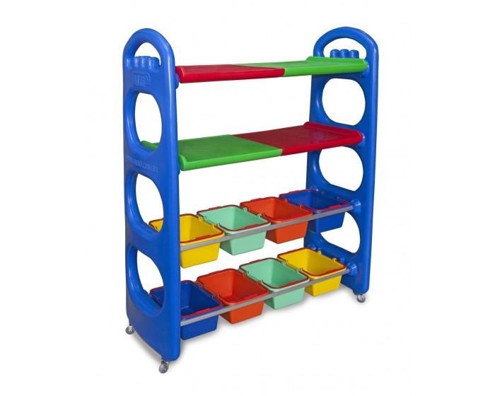 Estante e Organizador de Brinquedos Arrumadinho