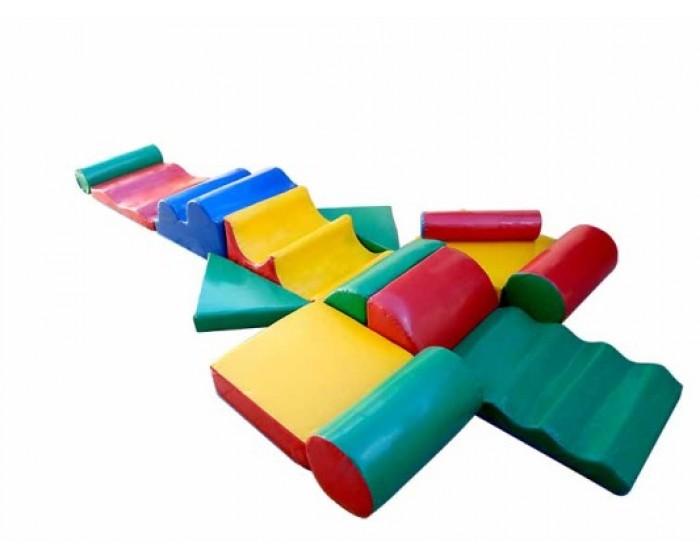 Playground Espumado Circuito de Atividades I com 14 Peças
