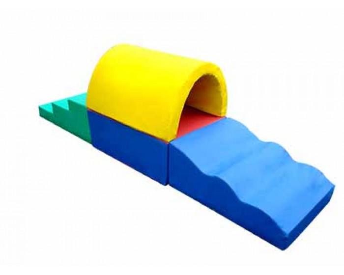 Playground Espumado Circuito Túnel