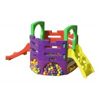 Playground Mini Play Festa com Escalada (sem bolinhas)