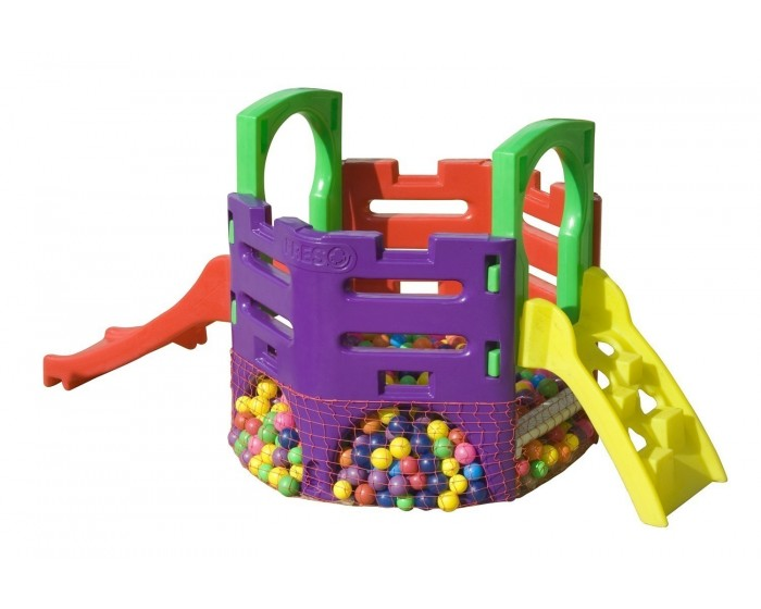 Playground Mini Play Festa com Escalada (sem bolinhas)