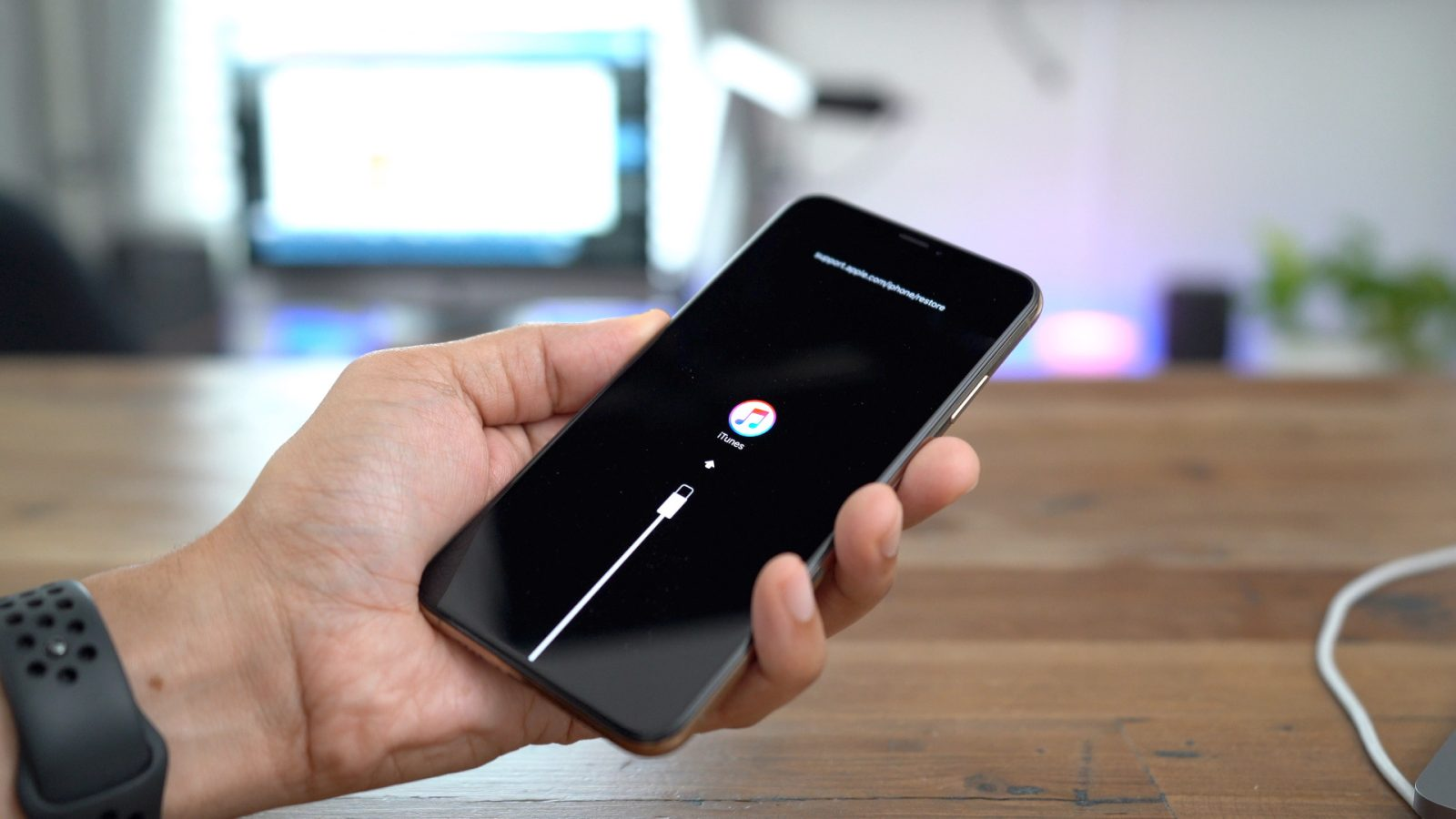 fix iphone recovery mode