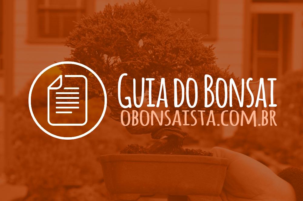 """Guia de Referências do Bonsai """"O Bonsaísta"""""""