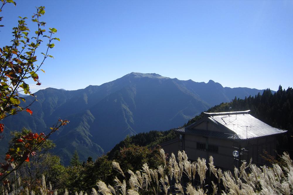 montanhas de Ishizuchi