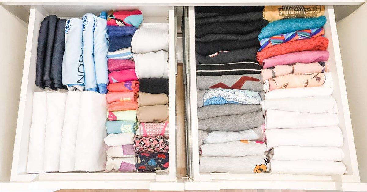 Como dobrar camiseta - Organizar Transforma