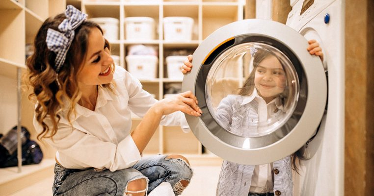 Como organizar lavanderia - Organizar Transforma