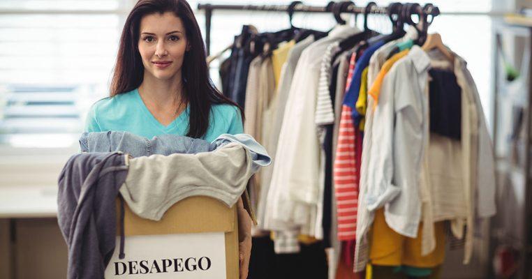 Desapego de roupas - Organizar Transforma