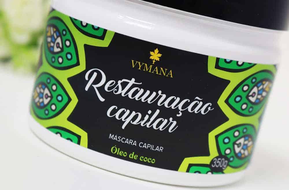 Máscara de Restauração Capilar da Vymana
