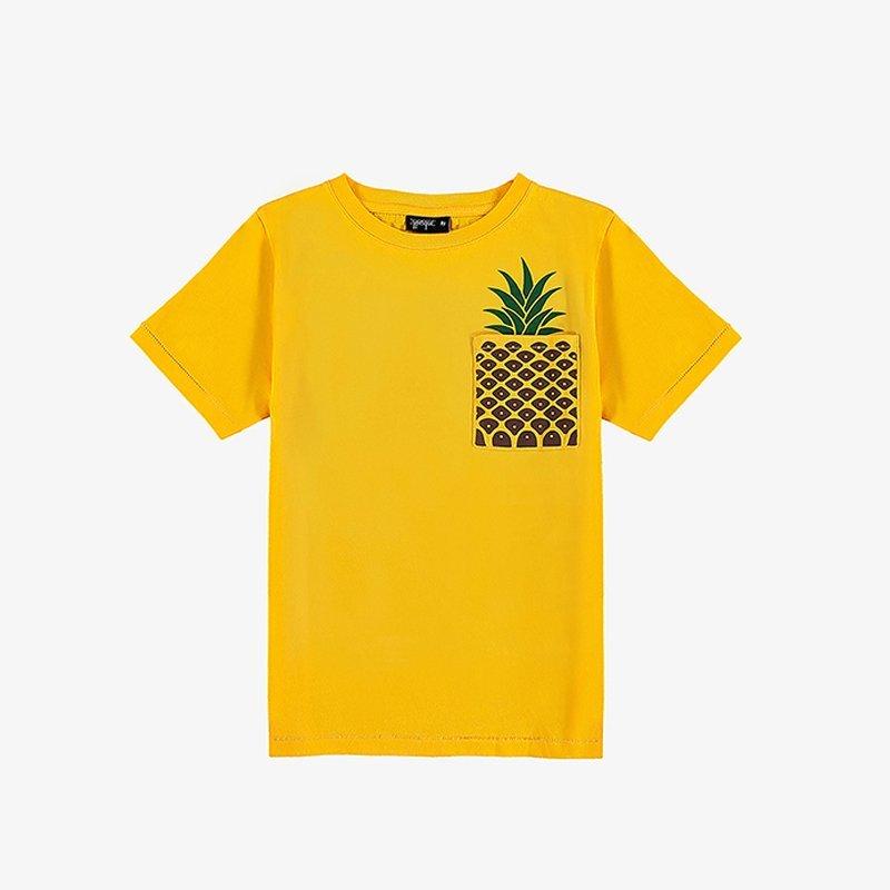 T-shirt Pineapple Pocket