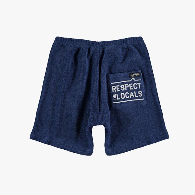 Short Pants Towel Blue