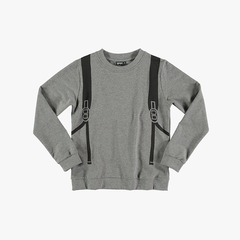 Sweatshirt Backpack Zipper