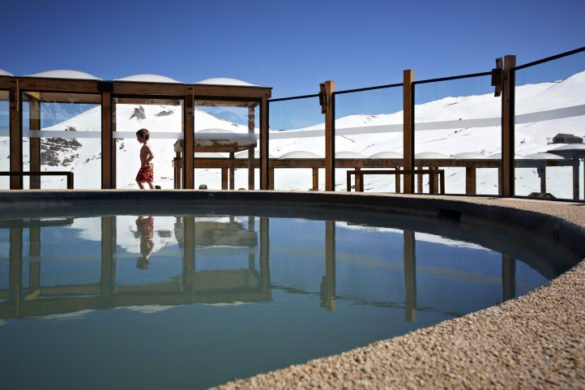Piscina Aquecida 5 e1464150267104 585x390 - Clientes Itaú têm desconto em Valle Nevado