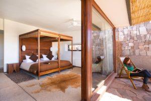 Quarto com terraço no Tierra Atacama