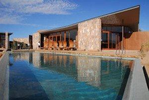 Spa com piscina no Tierra Atacama