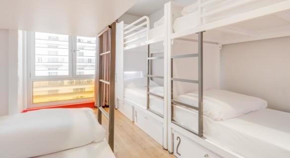 generator hostel quarto5 585x320 - Generator: o melhor hostel de Barcelona