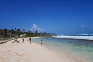 praia em San Andres