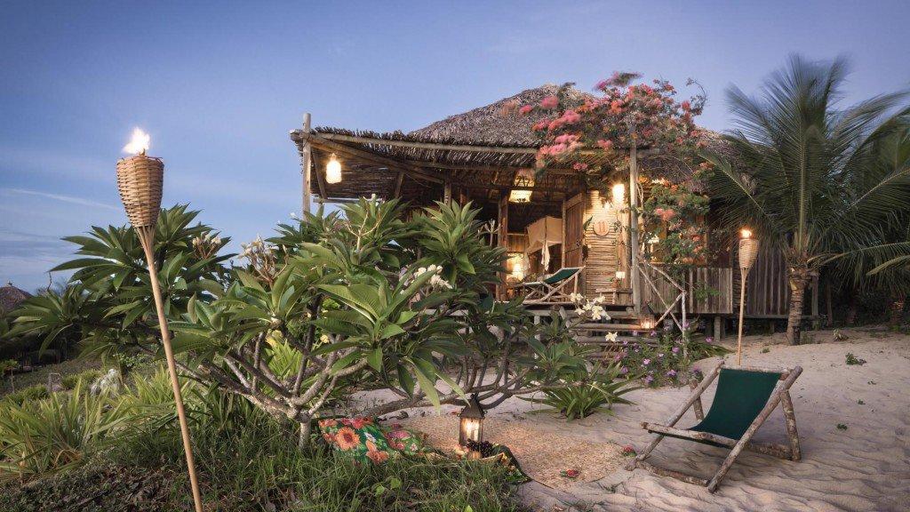 Bangalo-Rancho-do-Peixe, na Praia do Preá, Jericoacoara, Ceará, Brasil