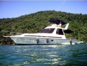 barco ou lancha dm 36 em paraty, Rio de Janeiro, Brasil