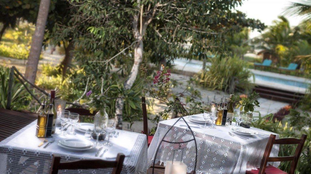 restaurante-rancho-do-peixe, na Praia do Prea, Jericoacoara, Brasil