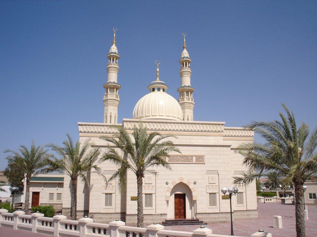 Mesquita-arabe-Dubai