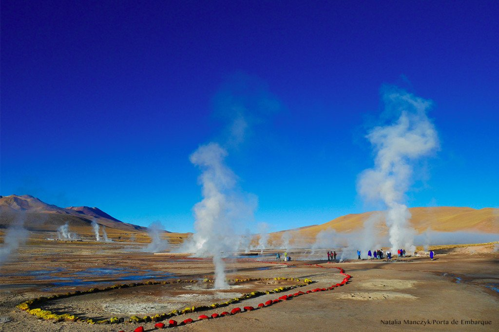 Geiseres de Tatio: o que levar na mala para o Atacama