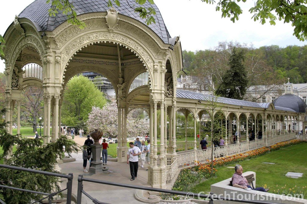 A colunata de Karlovy Vary