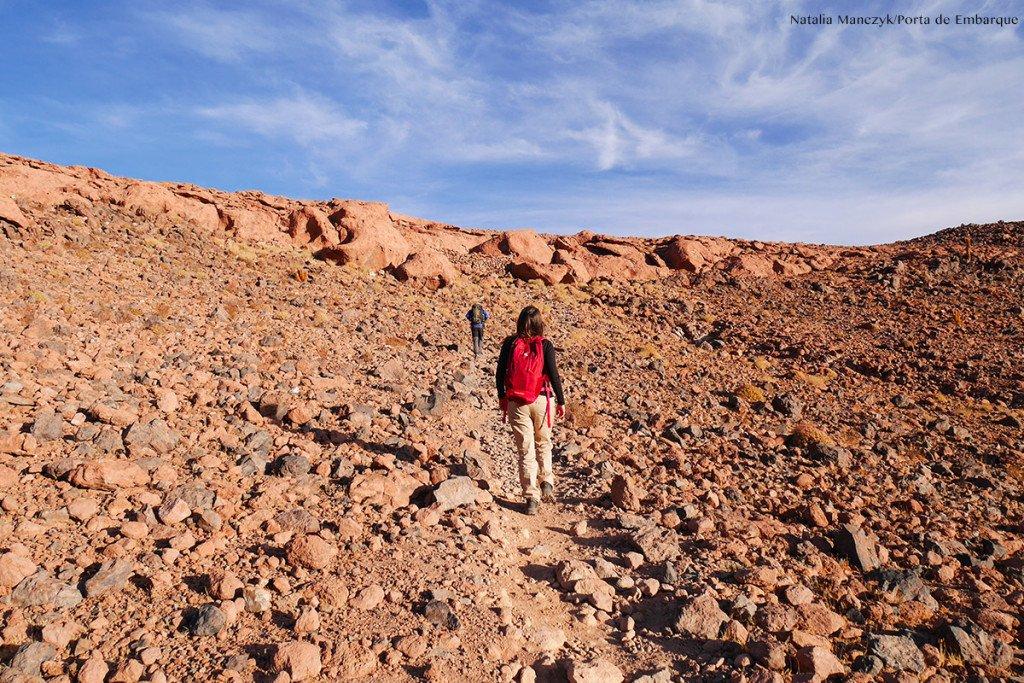 trekking no Guatin, no Atacama, Chile