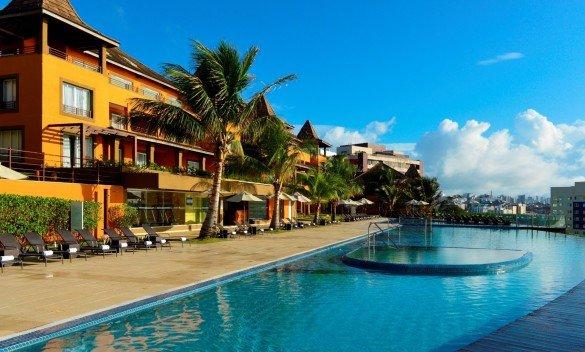 Pestana Bahia Lodge salvador credito divulgaçao e1470354227354 585x352 - Hotéis Pestana no Brasil estão com até 50% de desconto na diária