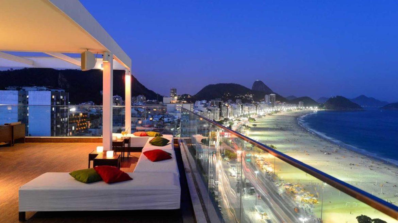 cobertura do Pestana Rio Atlantica, Rio de Janeiro, Brasil
