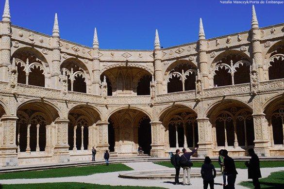 Dentro do Mosteiro dos Jerônimos