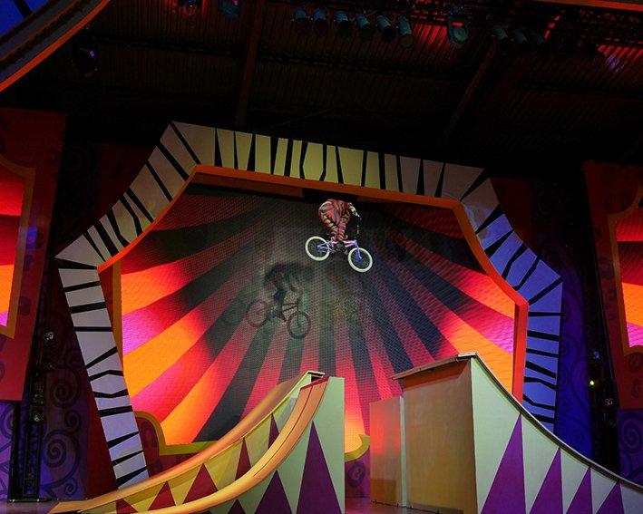 Número de circo no Madagascar