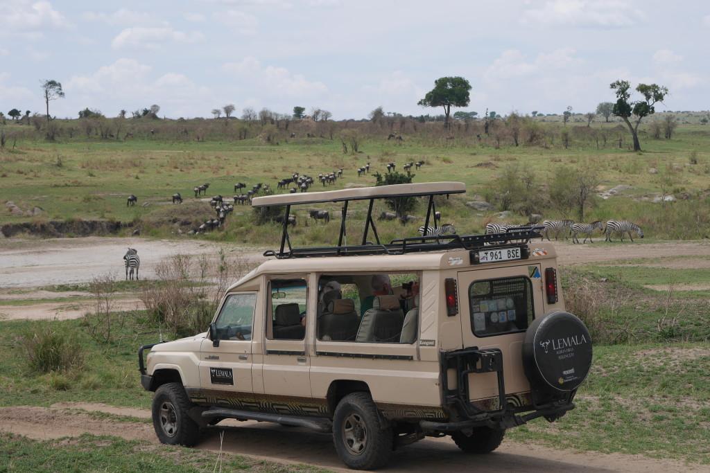 Depois da travessia no Serengueti
