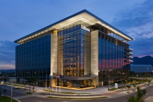 Fachada do Hilton Barra