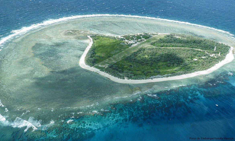 lady-elliot-island, ilha na Grande Barreira de Corais, na Australia