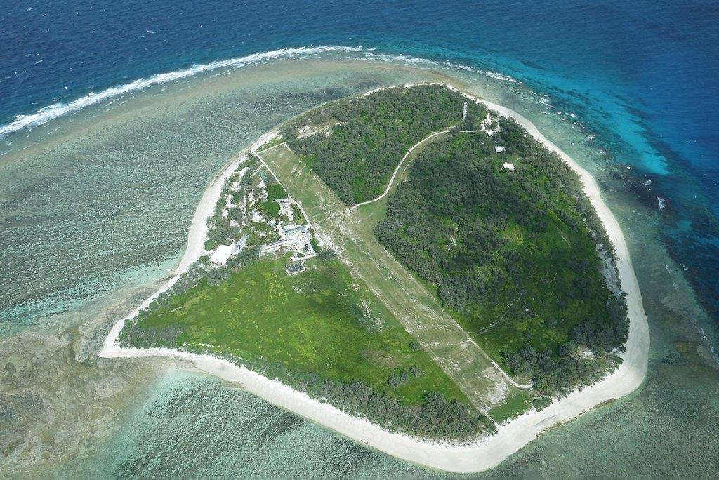 Lady Elliot Island, ilha na Australia, na Grande Barreira de Corais