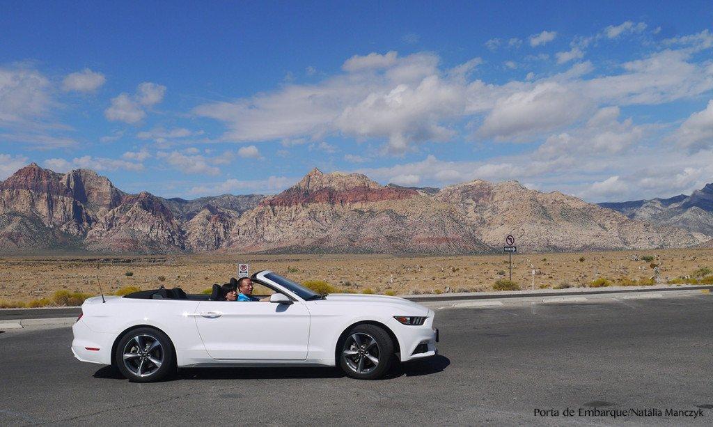 Red Rock Canyon de carro