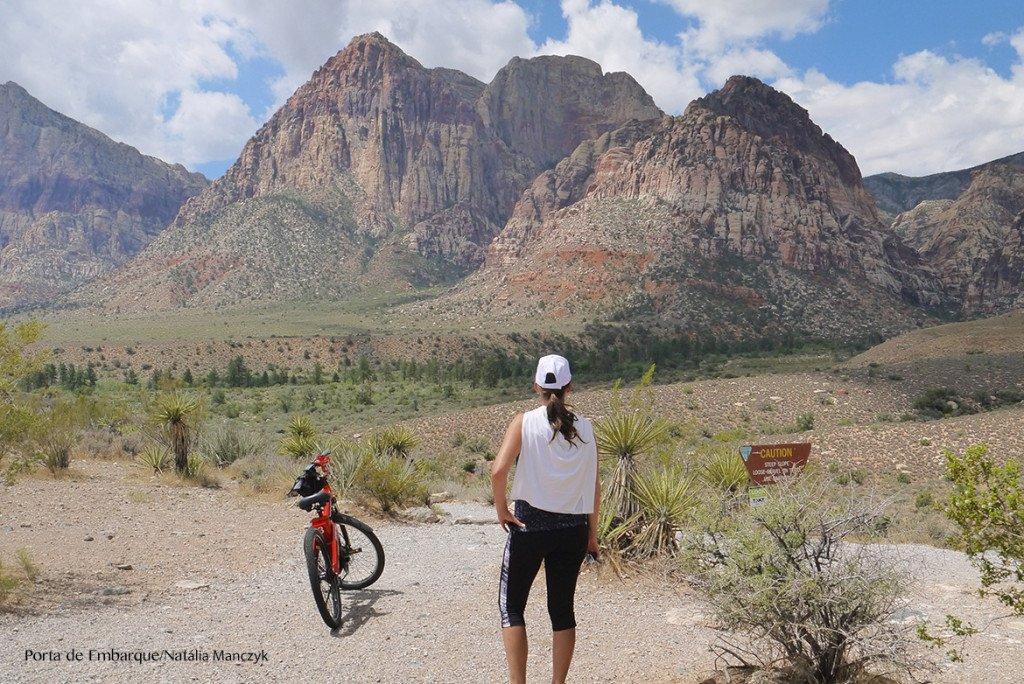 Mais uma parada no Red Rock Canyon