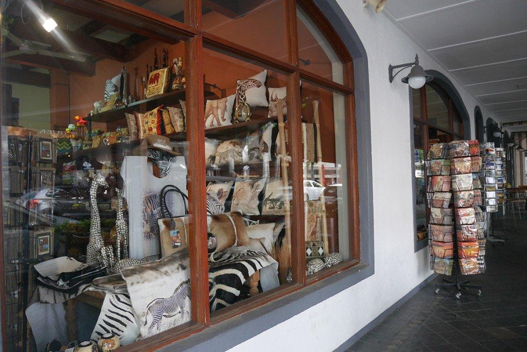 rua principal de Stellenbosch